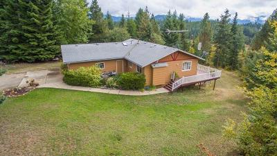 Hayden, Hayden Lake Single Family Home For Sale: 6305 E Hudlow Rd