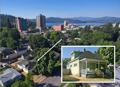 Coeur D'alene Single Family Home For Sale: 812 E Coeur D Alene Ave