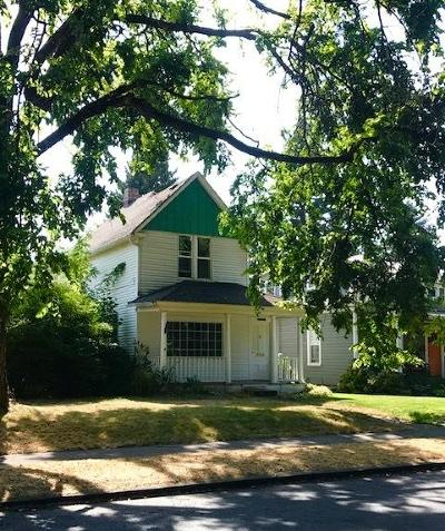 Coeur D'alene Single Family Home For Sale: 822 E Front Ave