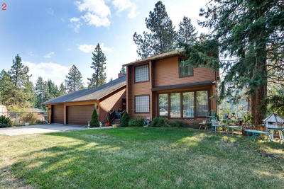 Hayden, Hayden Lake Single Family Home For Sale: 12620 N Dover Ln