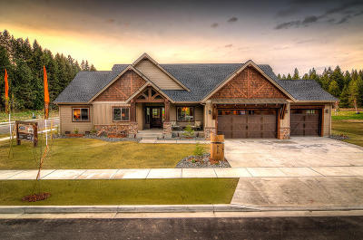 Coeur D'alene Single Family Home For Sale: 2290 E Thomas Hill Dr