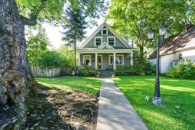 Coeur D'alene Single Family Home For Sale: 912 E Lakeside Ave