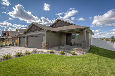 Coeur D'alene Single Family Home For Sale: 7606 N Goodwater Loop