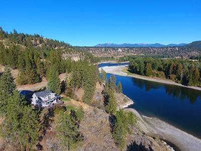 Bonners Ferry Single Family Home For Sale: 4146 District Two