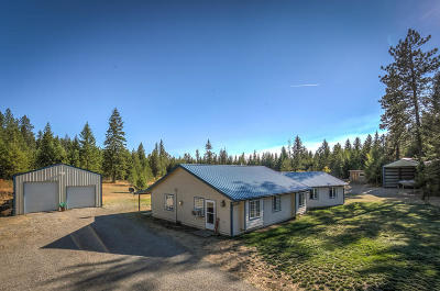 Rathdrum Single Family Home For Sale: 23468 N Cone Crest Rd