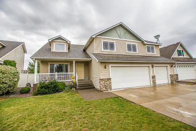 Hauser Lake, Post Falls Single Family Home For Sale: 1270 W Palouse Dr