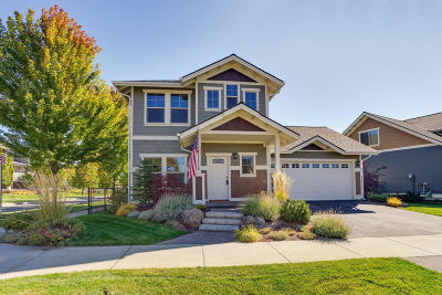 Coeur D'alene Single Family Home For Sale: 3274 N Swiftwater Ln