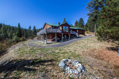 Coeur D'alene, Dalton Gardens Single Family Home For Sale: 2184 S Big Bear Rd