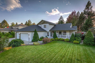 Coeur D'alene Single Family Home For Sale: 3857 N Sutters Way