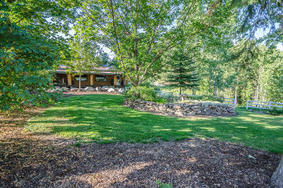 Rathdrum Single Family Home For Sale: 14651 N Reflection Rd