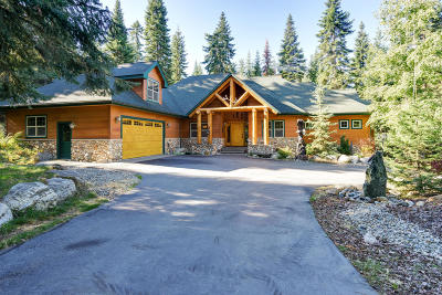 Coeur D'alene Single Family Home For Sale: 4040 E French Gulch Rd