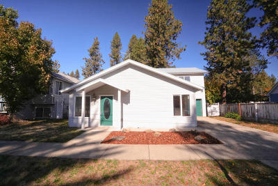 Coeur D'alene Single Family Home For Sale: 903 E Day Rd