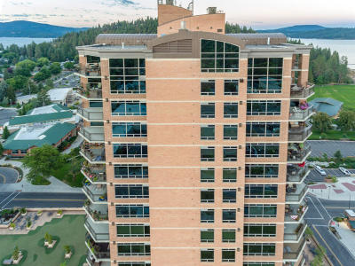 Coeur D'alene Condo/Townhouse For Sale: 601 E Front Ave #703