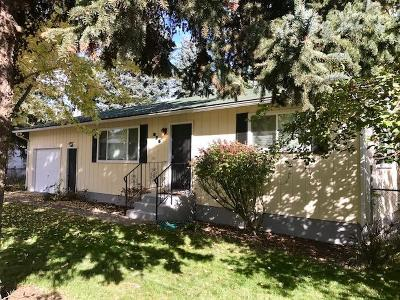 Coeur D'alene Single Family Home For Sale: 836 N 22nd St