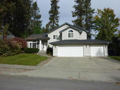 Coeur D'alene Single Family Home For Sale: 3760 W Fairway Dr