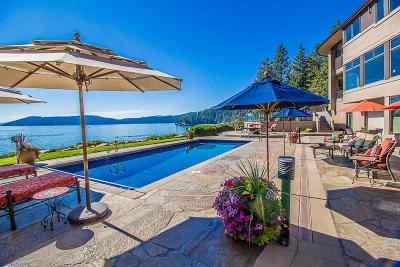 Coeur D'alene, Dalton Gardens Single Family Home For Sale: 1600 E Resort Beach Ln