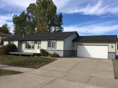Rathdrum Single Family Home For Sale: 8692 W David Street