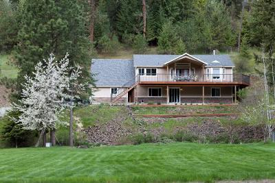 Coeur D'alene, Dalton Gardens Single Family Home For Sale: 3101 E French Gulch Rd
