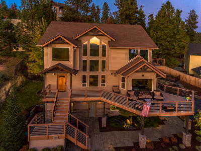 Coeur D'alene Single Family Home For Sale: 7766 N Westview Dr