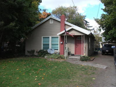 Coeur D'alene Single Family Home For Sale: 721 W Mill Ave