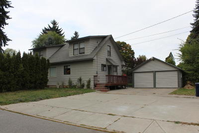 Coeur D'alene Single Family Home For Sale: 1802 N 7th St