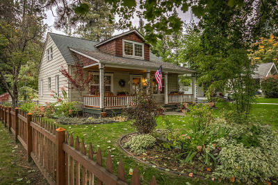 Coeur D'alene Single Family Home For Sale: 710 N 9th St