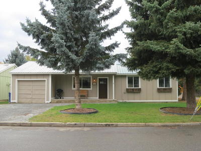 Sandpoint Single Family Home For Sale: 1601 Larch St