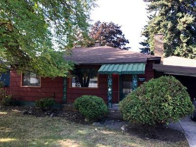 Coeur D'alene Single Family Home For Sale: 1043 N 15th St