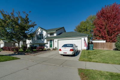 Rathdrum Single Family Home For Sale: 14573 N Wright St