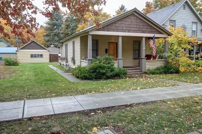 Coeur D'alene Single Family Home For Sale: 614 W Empire Ave