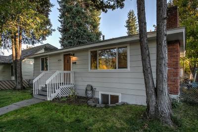 Coeur D'alene Single Family Home For Sale: 1416 E Montana Ave