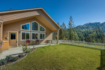 Coeur D'alene, Dalton Gardens Single Family Home For Sale: 8651 W Cougar Gulch Rd