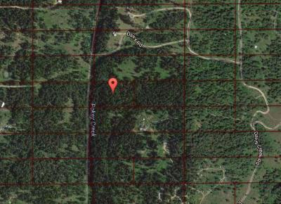 Benewah County Residential Lots & Land For Sale: NKA Davis Creek Road