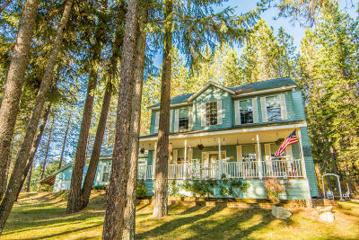 Sandpoint Single Family Home For Sale: 58 Serenity Place