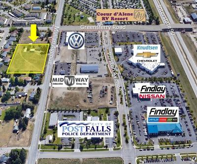 Post Falls Residential Lots & Land For Sale: 1917 E Mullan Ave