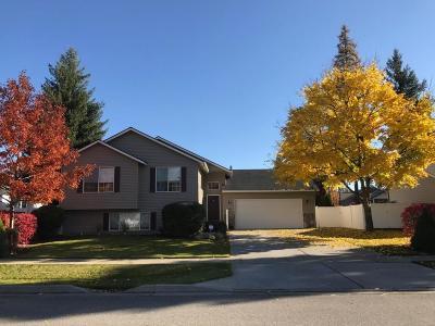 Coeur D'alene Single Family Home For Sale: 1236 W Edgewood Cir