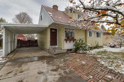 Coeur D'alene Single Family Home For Sale: 2810 N Fruitland Ln