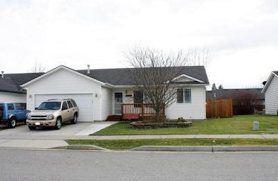 Coeur D'alene Single Family Home For Sale: 280 E Mallard Ave