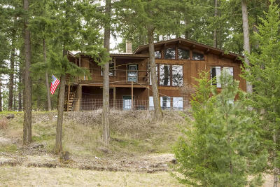 Bonners Ferry Single Family Home For Sale: 1324-19ac Turner Hill Road