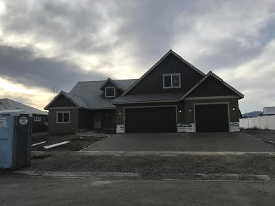 Rathdrum Single Family Home For Sale: 6984 W Blacktail Ave