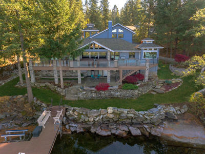 Post Falls Single Family Home For Sale: 10923 W Crystal Bay Rd