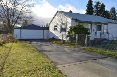 Coeur D'alene Single Family Home For Sale: 416 W Lacrosse Ave