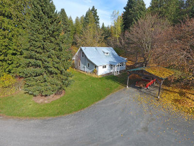 Bonners Ferry Single Family Home For Sale: 6838 Labrosse Hill St