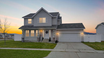 Coeur D'alene Single Family Home For Sale: 7544 N Courcelles Parkway