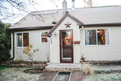 Coeur D'alene Single Family Home For Sale: 1208 E Adeline Ave