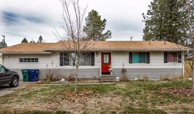 Coeur D'alene Single Family Home For Sale: 1827 E April Elaine Ave