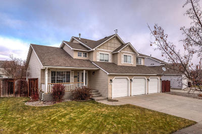 Coeur D'alene Single Family Home For Sale: 2703 W Tours Dr