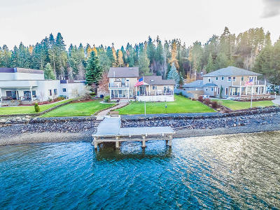 Kootenai County Single Family Home For Sale: 408 S Hidden Island Ln