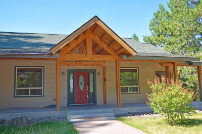 Bonners Ferry Single Family Home For Sale: 556 Chute Canyon Way