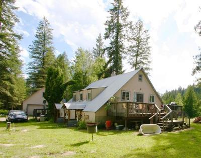 Priest Lake, Priest River Single Family Home For Sale: 1198 Riley Creek Rd